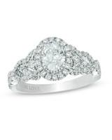 Vera Wang White Gold Engagement Ring