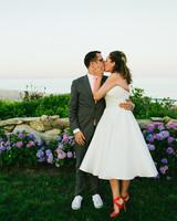 Gabriela and Tyson's Laid-Back Martha's Vineyard Wedding
