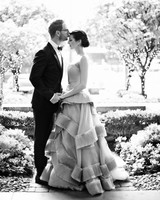 A Stylish Gray-and-Gold Seattle Wedding