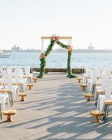julie anthony real wedding ceremony