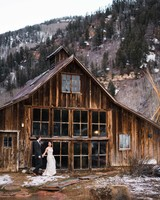 A Magical, Winter Wedding at a Rustic-Chic Resort