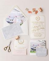 The Freshest Spring Wedding Invitations