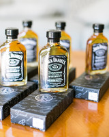whiskey wedding favors