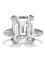 Forevermark Emerald-Cut Engagement Ring