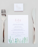 lisa louis wedding place setting