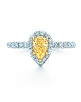 Tiffany & Co. Pear-Cut Engagement Ring