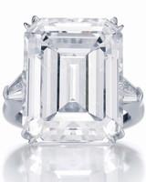 Harry Winston Emerald-Cut Engagement Ring