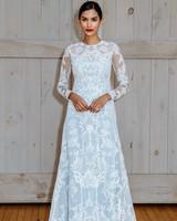 david's bridal long sleeves wedding dress spring 2018