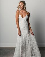 grace loves lace spaghetti strap spring 2018 wedding dress