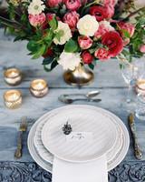 ciera preston wedding place setting