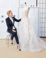 A Diary of the Making of a Wedding Dress: Behind-the-Seams with Carolina Herrera