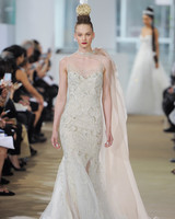 ines di santo trumpet gold detail wedding dress spring 2018