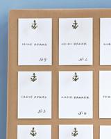 Anchor Escort Cards