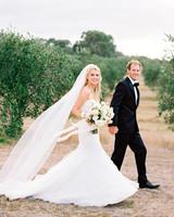 Jemma and Michael's Romantic Black-Tie Wedding in an Australian Olive Grove
