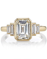 Single Stone Emerald-Cut Engagement Ring