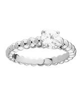 Van Cleef & Arpels White Gold Engagement Ring