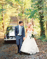 A Romantic Cream-And-Ivory Wedding at a Historic Virginia Hotel