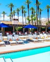 Pool and spa bachelorette wellness retreat