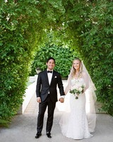 A Casual, Outdoor Wedding in Palm Springs with a Black-Tie Dress Code
