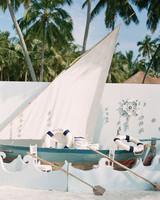 sailboat photo booth backdrop