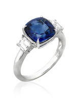 Yael Designs White Gold Engagement Ring
