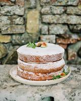 Sugar and Fig Wedding Cake