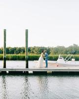 Couple Portrait on Dock