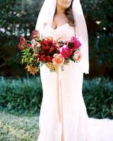 Ruby Wedding Bouquet