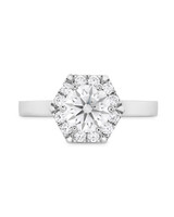 Hearts on Fire White Gold Engagement Ring