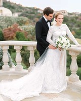 A Winter Wedding at a Villa in Austin