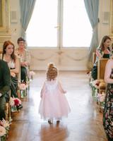Wedding flower girl