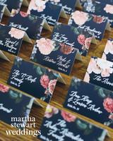 abby elliott bill kennedy wedding escort cards