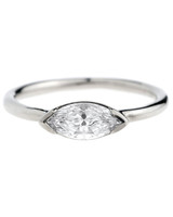 Bario Neal Marquise-Cut East-West Engagement Ring