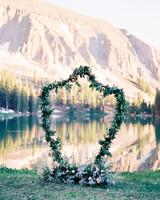 Minimalist Wedding Arch Sculpture