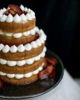 Plum and Cardamom Wedding Cake