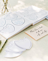 Champagne Label Guest Book