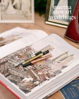 abby elliott bill kennedy wedding guest book