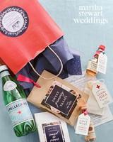 abby elliott bill kennedy wedding welcome bag