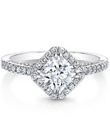 Forevermark Princess-Cut Engagement Ring