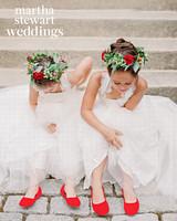 abby elliott bill kennedy wedding flower girls