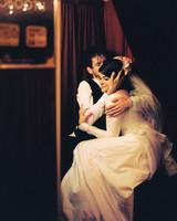 38 Utterly Romantic Wedding-Day Kisses