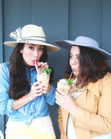 Kentucky Derby Themed Bridal Shower with Mint Juleps