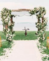 White Wedding Chuppah