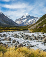 new zealand mount cook national park southern alps