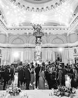 New Years eve wedding reception dance