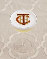 Monogrammed Cocktail