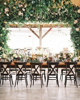Flower-Filled Wedding Reception