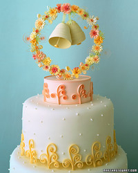 Cake Toppers: Quilled Bells