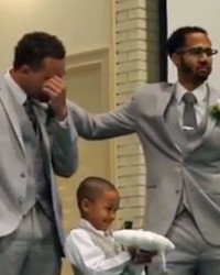 Watch This Groom Lose It When His Bride Walks Down the Aisle
