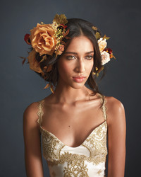 6 Other Ways to Wear Flowers on Your Wedding Day